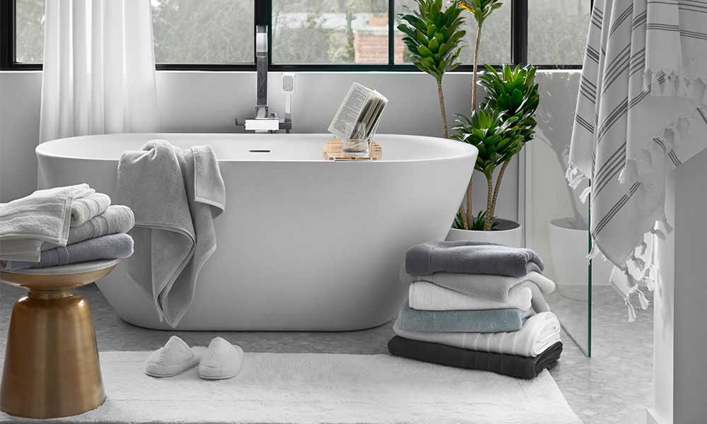 Towel Buying Guide for GlucksteinHome towels at Hudson's Bay