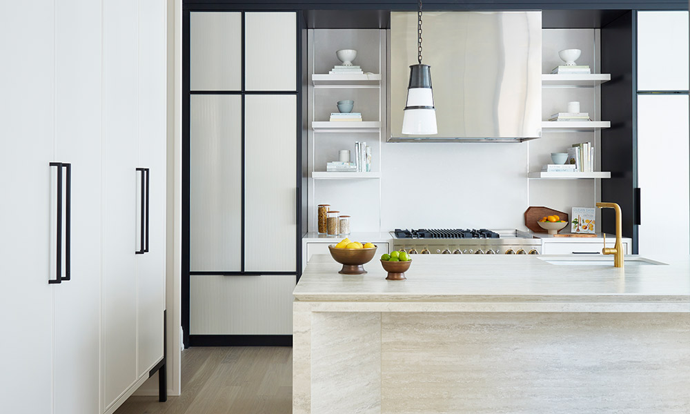 How to Add Soul to a Monochromatic Kitchen