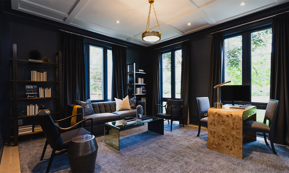 Why Every Home Could Use A Dark & Moody Room