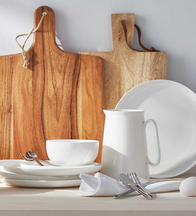 Gluckstein Home | Crisp White and Warm Wood