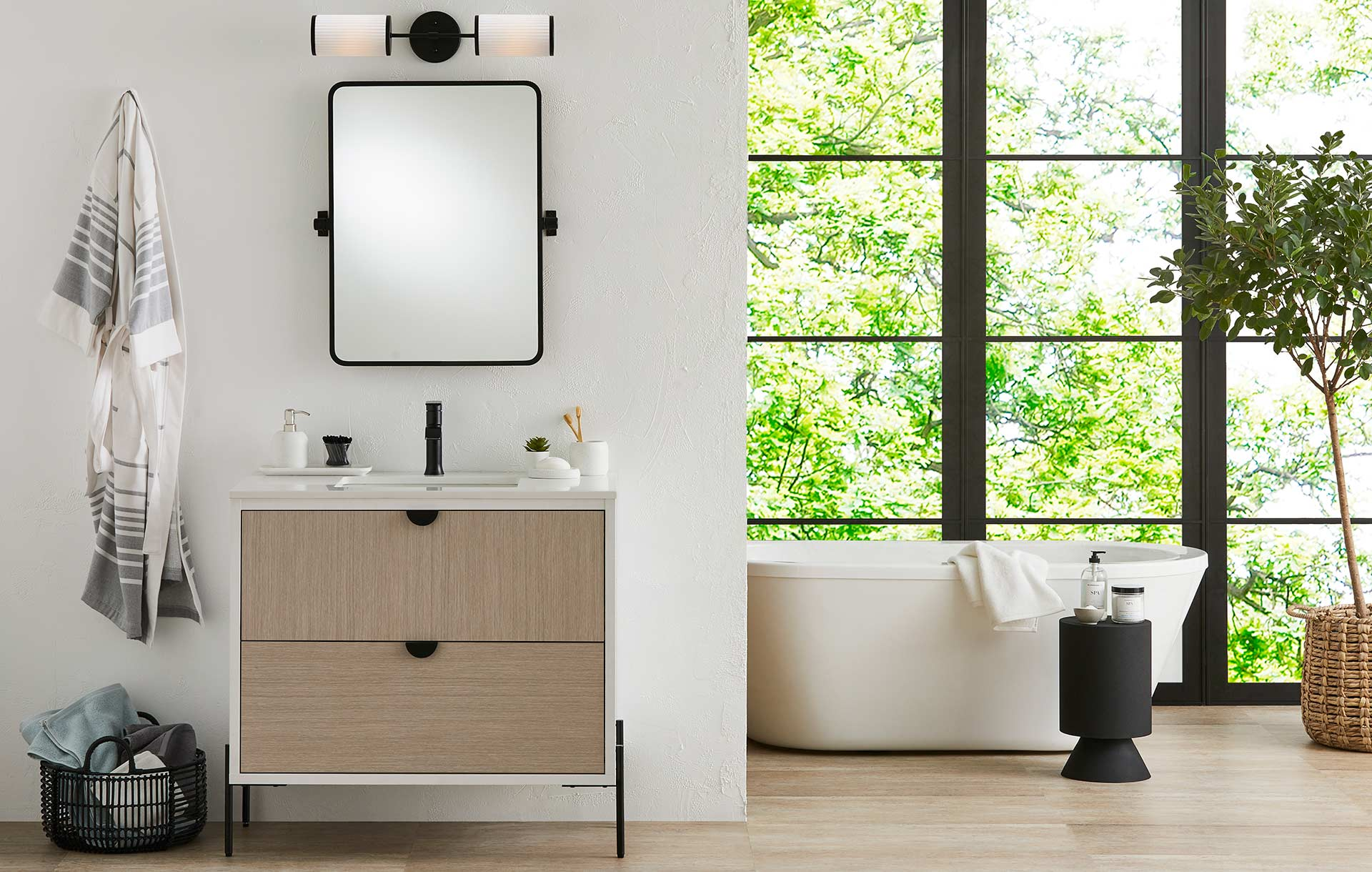 GlucksteinElements | Easy to install vanities, in modern and transitional styles, designed to inspire your entire bathroom