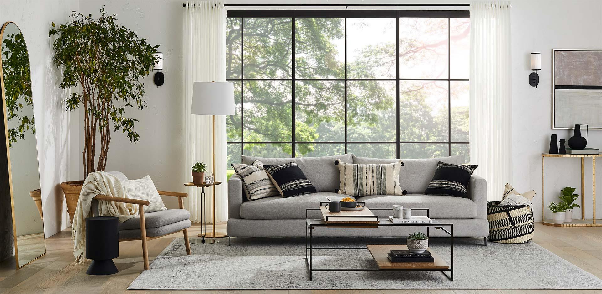 GlucksteinHome | Furniture | The Hoxton Sofa