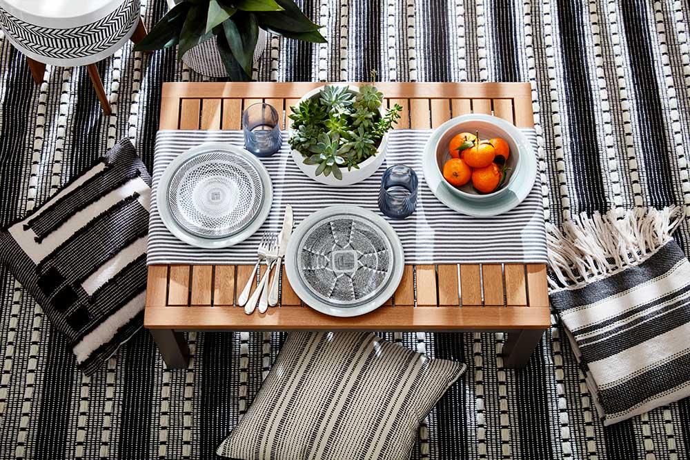 GlucksteinHome | Outdoor Tabletop Collection