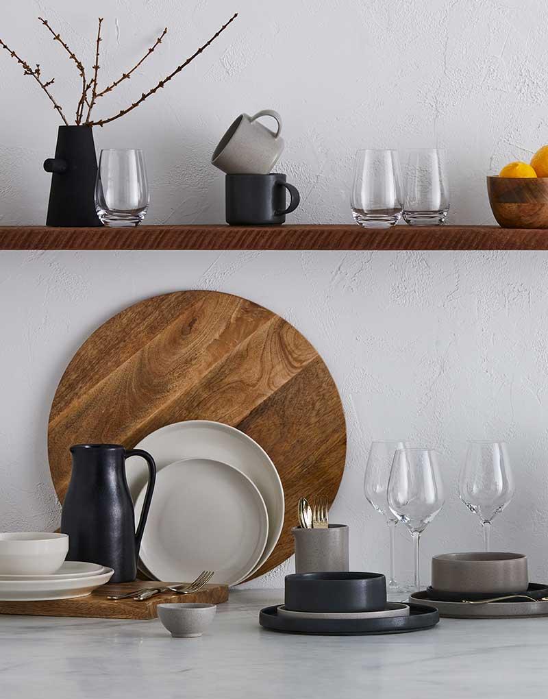 GlucksteinHome   Stoneware dinnerware